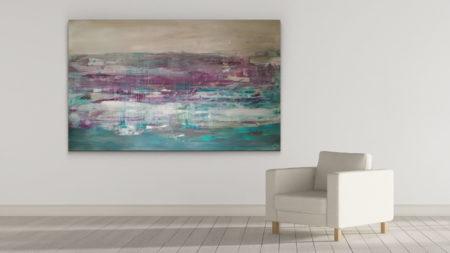 Birnenkuchen mit Lavendel 117x190cm –2017