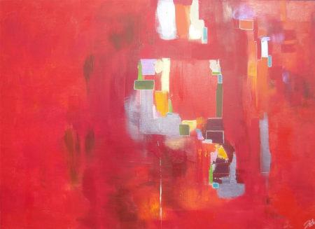 EINEN SCHRITT WEITER 130x180cm – 2014