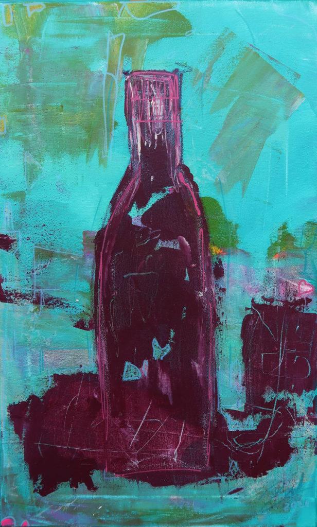 Flaschenkind 1 – 38x62cm