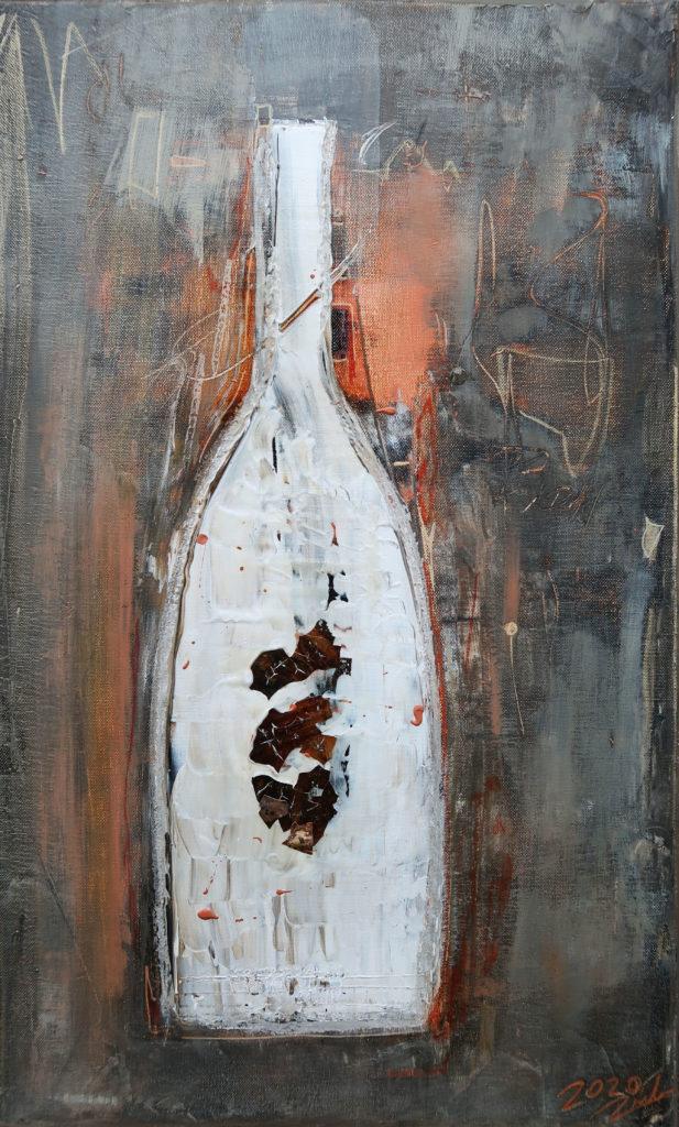 Flaschenkind 3 – 38x62cm