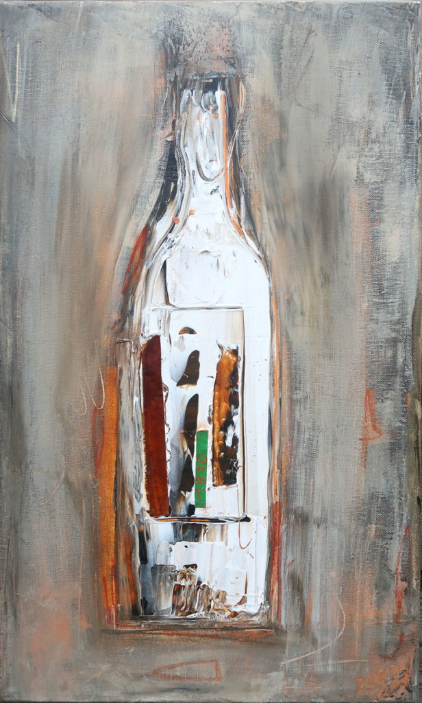Flaschenkind 4 – 38x62cm