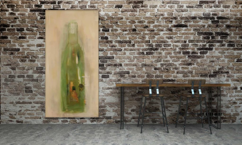 Big Bottle 1 / 2020 – 100x200cm
