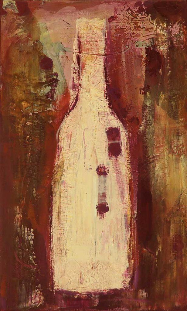 Flaschenkind 6 – 38x62cm