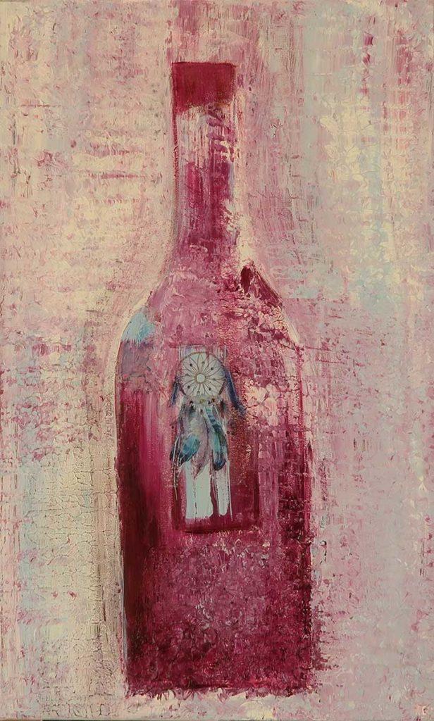 Flaschenkind 7 – 38x62cm